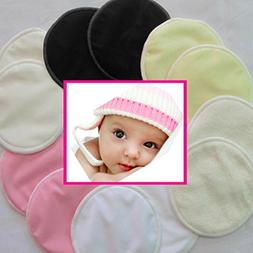 Nursing Washable Breast Pads - Bamboo, Organic, Hypoallerge