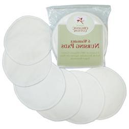 TL Care Organic Cotton Nursing Pads 6 Pads