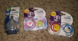 Avent Pacifier and nipple lot slow flow classic orthodontic
