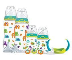 NUK Perfect Fit Newborn Bottle Gift Set, BPA-Free