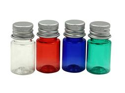 TOPWEL 5ML PET Plastic Cosmetics Travel Essential Oils Powde
