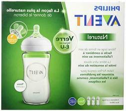 Philips Avent Natural Glass Bottle 8oz - SCF703/37 Brand New