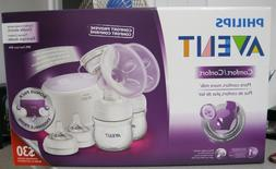 PHILIPS AVENT NATURAL TWIN ELECTRIC BREAST PUMP COMFORT PROV