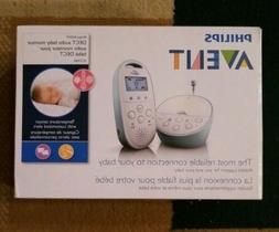 Phillips Avent SCD560/10 Audio Baby Monitor L, DECT with Tem