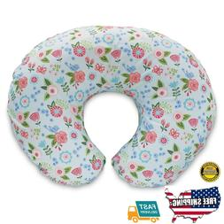 Boppy Pillow Slipcover, Blue Classic Fresh Flowers
