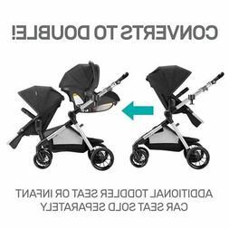 Evenflo Pivot Xpand Modular Stroller, Converts to Double, Li