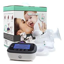 Portable Double Electric Breast Pump: Rechargeable on The go