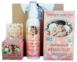Earth Mama Angel Baby Postpartum Trio | New Mom Bottom Spray