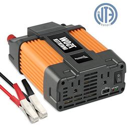 Ampeak 750W Power Inverter 12V to 110V AC Converter with 2.1