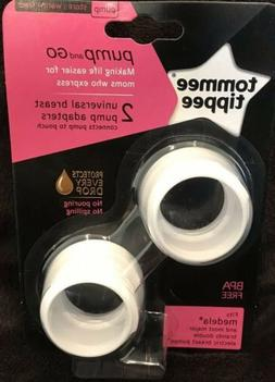 Tommee Tippee Pump And Go 2 Universal Breast Pump Adapters N