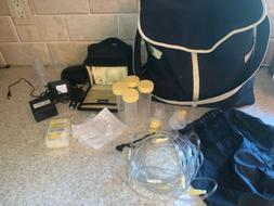 Medela Pump In Style Advanced Breastpump+battery pack +acces