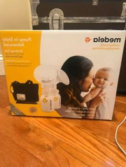 Medela Pump In Style Advanced Double Breast Pump opened to c