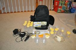 Medela Pump In Style Advanced Double Breast Pump Backpack~Lo