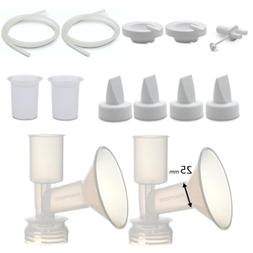 Maymom Pump Parts for Ameda Purely Yours Pumps; Incl. Silico