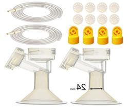 Pump Tubing and Breast Pump Kit by Maymom for Medela Pump in