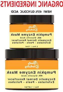 *Pumpkin Enzyme Peel with 30% 15% 12% 5% Glycolic Acid, AHA