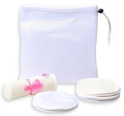 Reusable Organic Nursing Pads, Washable, Hypoallergenic, Bam