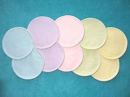 Reusable Washable Breastfeeding Nursing Pads Leakproof Water