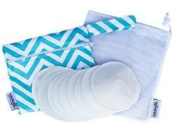 Reusable Washable Contoured Bamboo Eco Nursing Breastfeeding