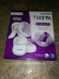 Philips AVENT SCF330 Manual Comfort Breast Pump NEW SEALED!!