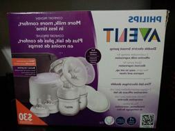 Philips SCF334/22 Avent Double Electric Breast Pump + Power