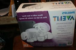 Sealed Phillips Avent Double Electric Breast Pump Model SCF3