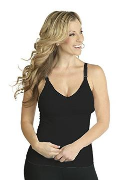 Seamless Pump&Nurse Nursing Cami with built-in Hands-Free Pu