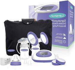 signature pro double electric portable breast pump