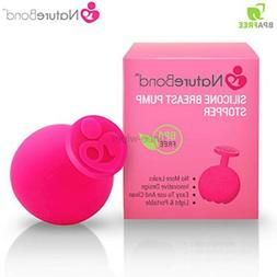 NatureBond Silicone Breast Pump Stopper | Leak-Proof, BPA Fr