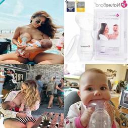 Silicone Breastfeeding Manual Breast Pump Milk Saver Nursing