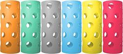 Brieftons Silicone Sleeves: 6-Pack Insulated Anti-Slip Prote