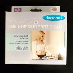 Lansinoh Simple Wishes Hands-Free Pumping Bra XS - L