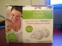 simply natural breast pump accessory set hands