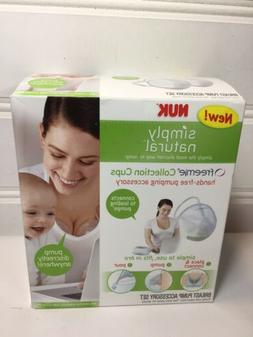 NUK Simply Natural Freemie Collection Cups Breast Pump Acces