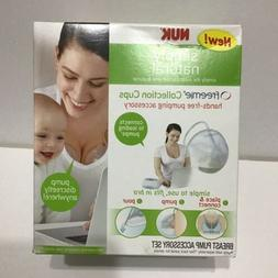 NUK Simply Natural Freemie Collection Cups Handsfree Breast