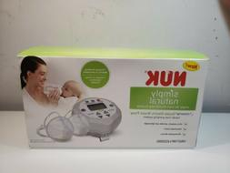 NUK SIMPLY NATURAL FREEMIE DOUBLE ELECTRIC BREAST PUMP  NEW