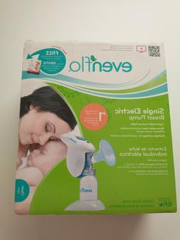 Evenflo Single Electric Breast Pump Comfortable Breastfeedin