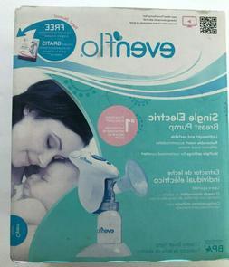 Evenflo Single Electric Breast Pump Finger Tip Control Compa