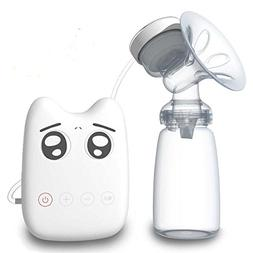 Vigoo Single Electric Comfort Breast Pump Milk Storage Bottl