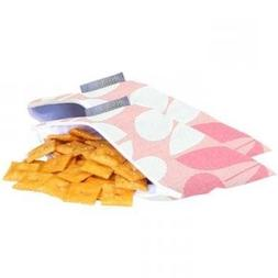 Itzy Ritzy Snack Happened Mini Reusable Snack Bag, 2 Pack, M