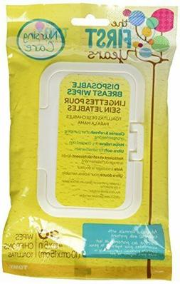 The First Years Soothing Breast Wipes, 30 Count