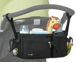 Stroller Organizer Bag - Universal Fit, Cup Holders, Removab