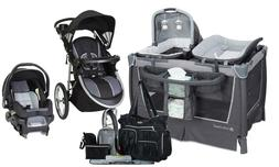 Baby Trend Stroller with Car Seat Travel System Playard Diap