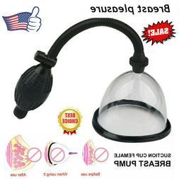 Suction Cup Female Breast Pump Enlargement Enhancer Bigger S