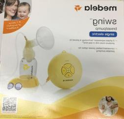 Medela Swing Single Electric Breast Pump Kit  NO BPA New Sea