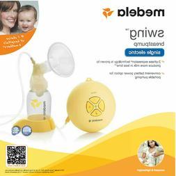 swing single electric breast pump kit brand