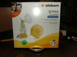 Medela Swing Single Electric Breast Pump Kit Portable   free