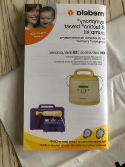 Medela Symphony and Lactina Breast Pump Kit Instructions Boo