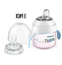 Philips Avent My Natural Trainer Sippy Cup, Clear, 5oz, 1pk,