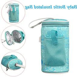 Travel Cup Heater Infant Bottle Warmer Insulated Bag Milk Th
